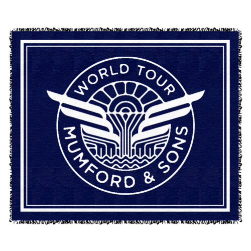 Mumford & Sons : World Tour Blanket