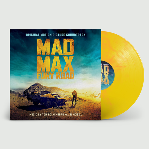Original Soundtrack: Mad Max Fury Road: Limited Edition Gatefold Flaming Vinyl