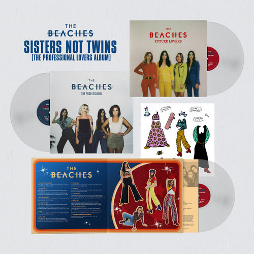 The Beaches: Sisters Not Twins (The Professional Lovers Album)