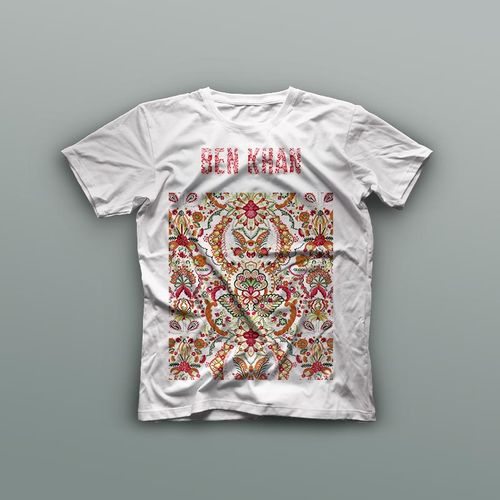 Ben Khan: Red Logo T-Shirt