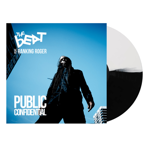 The Beat feat. Ranking Roger: Public Confidential: Signed Black and White Split Vinyl