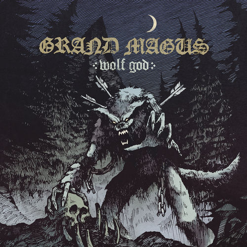 Grand Magus: Wolf God: CD with Limited Edition Signed Insert