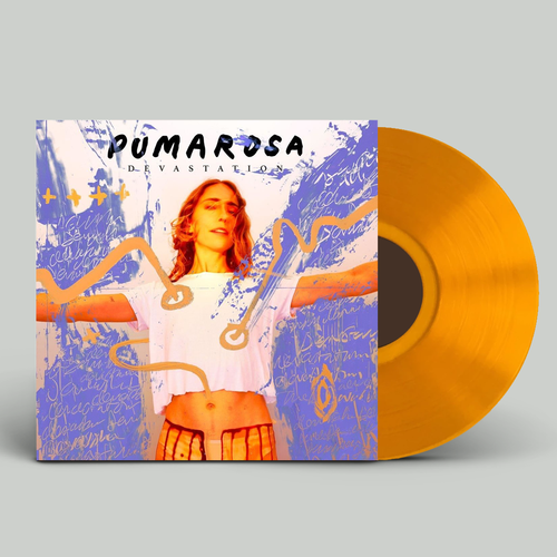 Pumarosa: Devastation: Signed Limited Edition Translucent Orange Vinyl