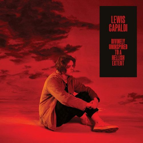 Lewis Capaldi: DUTAHE EXTENDED EDITION CD + LIMITED EDITION SIGNED RED PRINT