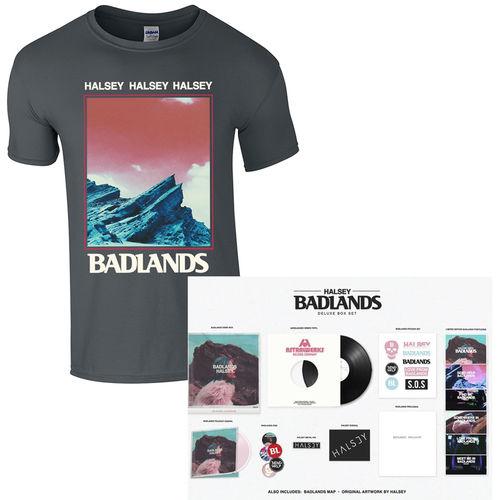 Halsey: T-Shirt & Box Set Bundle