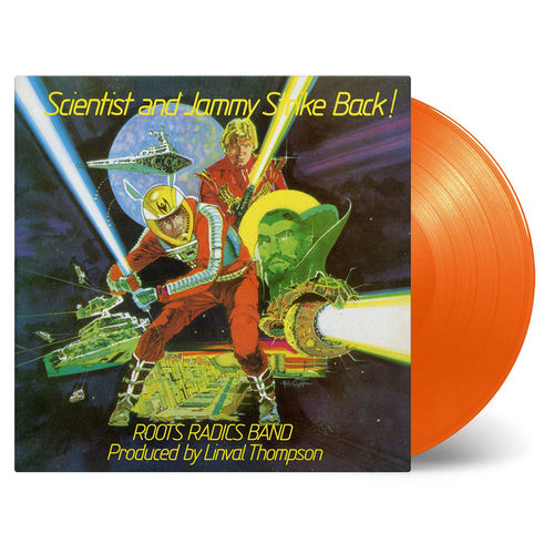 Scientist and Prince Jammy: Scientist and Prince Jammy: Solid Orange Numbered Vinyl
