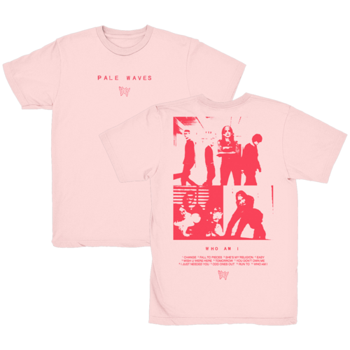 Pale Waves: 'Who Am I?' T-Shirt + Black Cassette