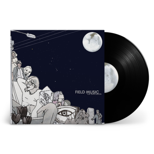 Field Music: Flat White Moon: Signed Black Vinyl