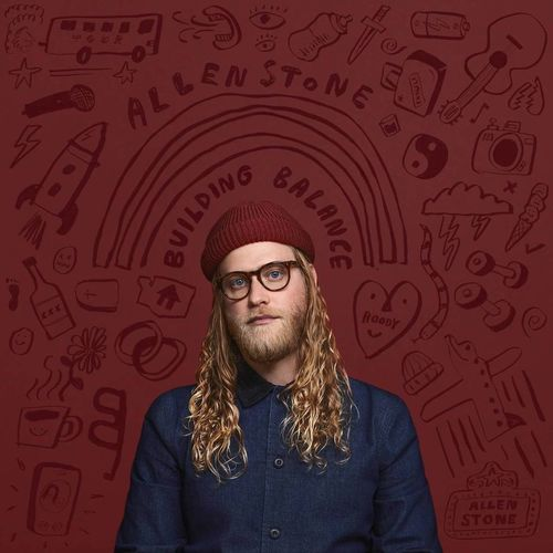 Allen Stone: Building Balance: Limited Edition Clear Vinyl