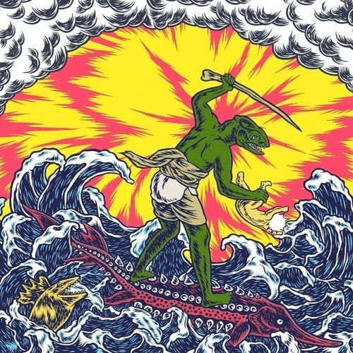 King Gizzard & The Lizard Wizard: Teenage Gizzard: Limited Edition Magenta & Yellow Splatter Vinyl