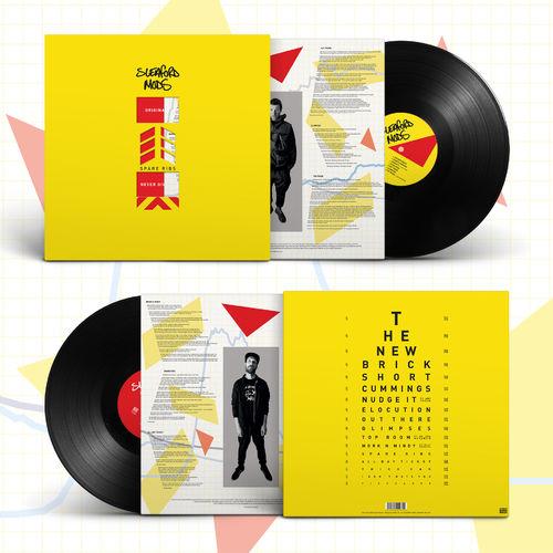 Sleaford Mods: Spare Ribs: Black Vinyl