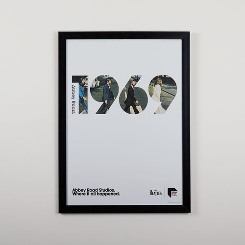 Abbey Road Studios: The Beatles Abbey Road 1969 Poster