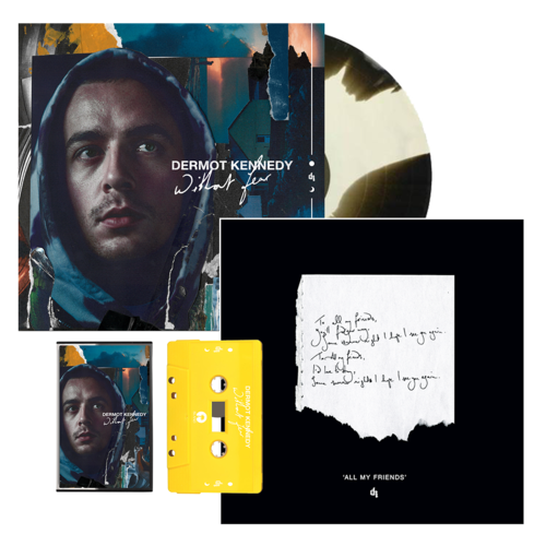 Dermot Kennedy: Without Fear: Marbled LP, Cassette + All My Friends Signed + Numbered Lithograph