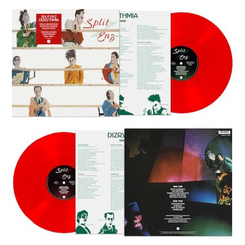 Split Enz: Dizrythmia: Limited Edition Red Vinyl