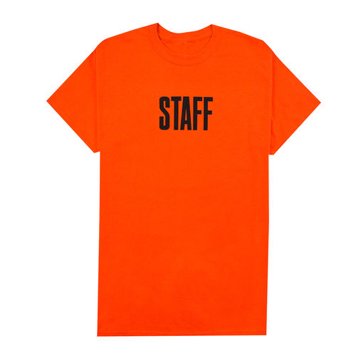 Justin Bieber: Staff Orange Tee