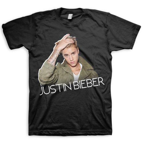 Justin Bieber: JB Profile Tee - Small
