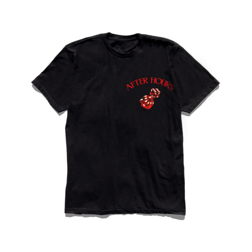 The Weeknd: AFTER HOURS DICE TEE
