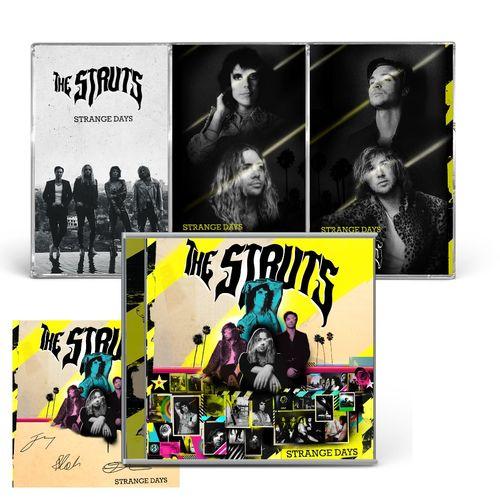 The Struts: STRANGE DAYS CASSETTE TRIO, CD & SIGNED ART CARD