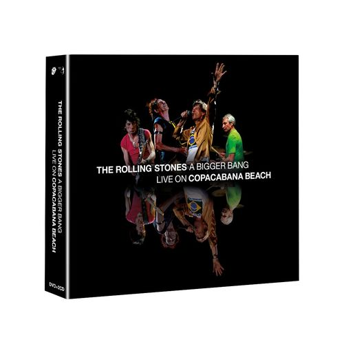 The Rolling Stones: 'A Bigger Bang' Live On Copacabana Beach: SD DVD 4-disc Set