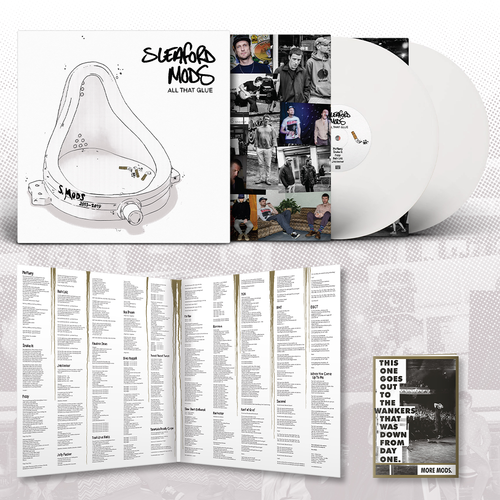 Sleaford Mods: All That Glue: Limited Edition Double White Vinyl