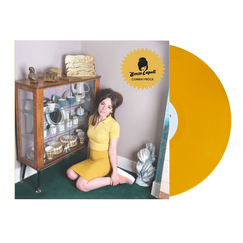 Emily Capell: Combat Frock: Signed Sherbet Lemon Coloured Vinyl