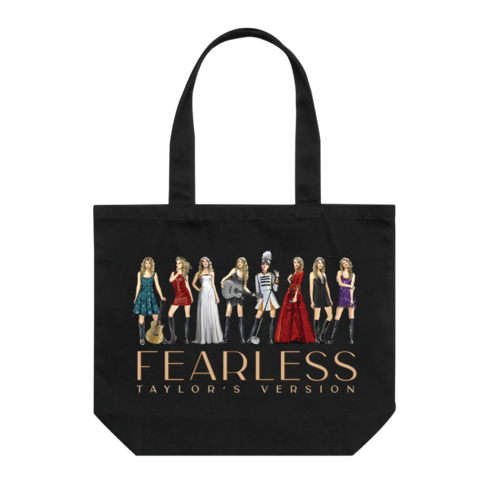 Taylor Swift: Fearless (Taylor's Version) Eras Collection Tote Bag