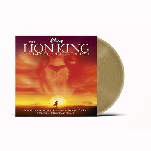 Various Artists: The Lion King: Exclusive Gold Vinyl