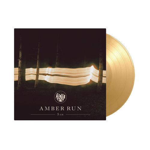 Amber Run: 5 AM: Limited Edition Gold & Amber Vinyl