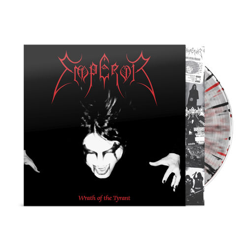 Emperor: Wrath Of The Tyrant Black & Red Splatter Vinyl