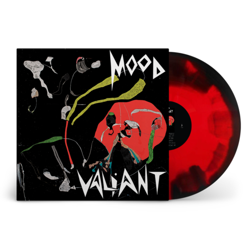 Hiatus Kaiyote: Mood Valiant: Limited Edition Red + Black Inkspot Vinyl LP