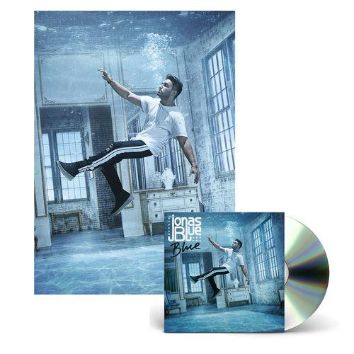 Jonas Blue: Blue Signed CD + Limited Edition A3 Art Print