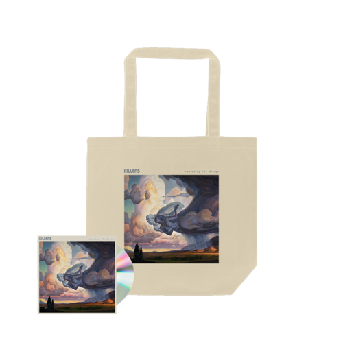 The Killers: ITM Album Art Tote Bag (Natural) + CD