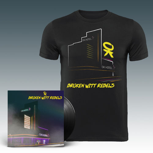 Broken Witt Rebels: LP & T-Shirt Bundle