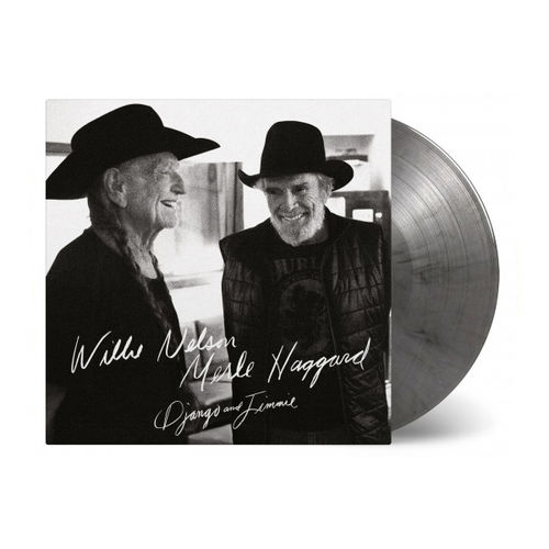 Willie Nelson and Merle Haggard: Django And Jimmie: Limited Edition Black & Silver Marbled Vinyl