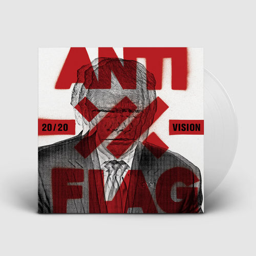 Anti-Flag: 20/20 Vision Clear Vinyl