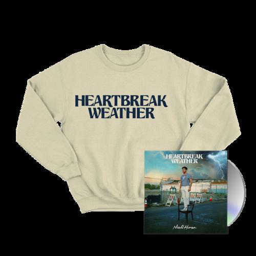 Niall Horan: CD & HEARTBREAK WEATHER SAND CREWNECK SWEATER