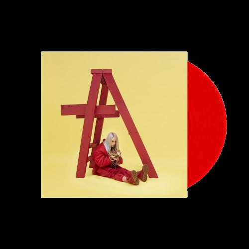 Billie Eilish: dont smile at me red vinyl