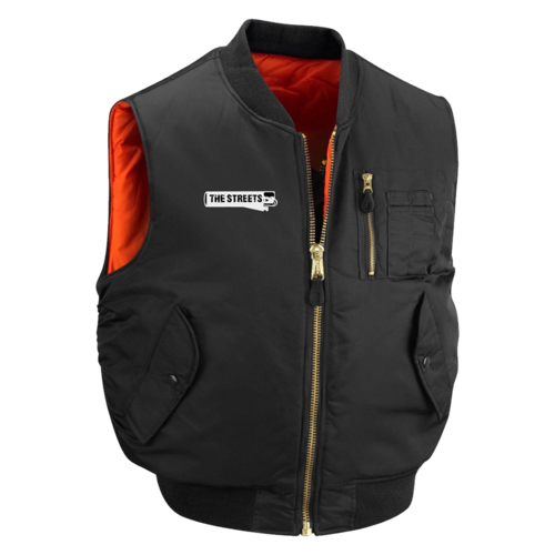 The Streets: The Streets: Classic MA1 Flight Gilet