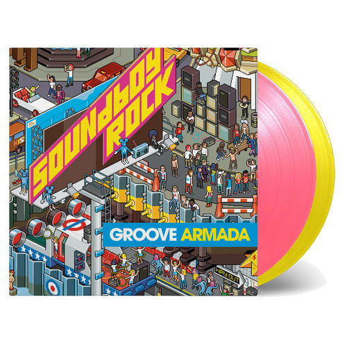 Groove Armada: Soundboy Rock: Yellow & Pink Numbered Vinyl