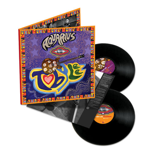 Toby Lee: Aquarius: Signed Limited Edition Double Vinyl 2LP
