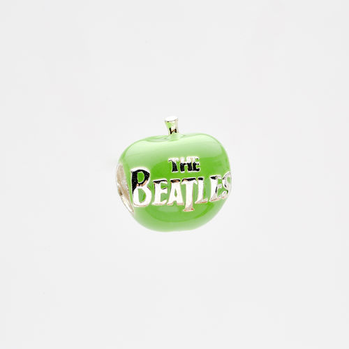 Abbey Road Studios: The Beatles Green Apple Sterling Silver Charm Bead