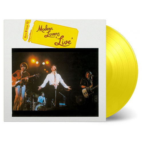 The Modern Lovers: Live: Limited Edition Yellow Vinyl