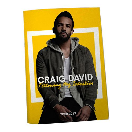 Craig David: *Signed* FMI Tour 2017 Programme