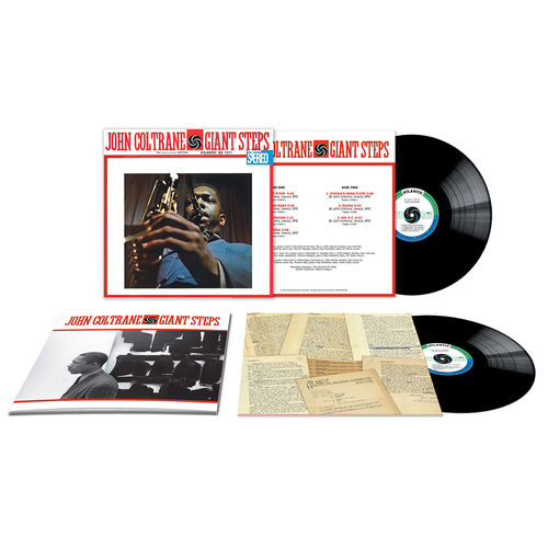 John Coltrane: Giant Steps: 60th Anniversary Deluxe Edition 180gm Double Vinyl