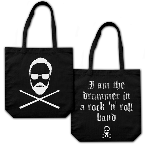 Roger Taylor: 'Taylored' Tote Bag Black