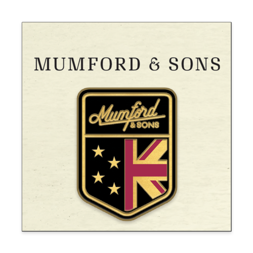 Mumford & Sons : Arms Pin