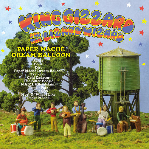 King Gizzard & The Lizard Wizard: Paper Mâché Dream Balloon: Orange Vinyl