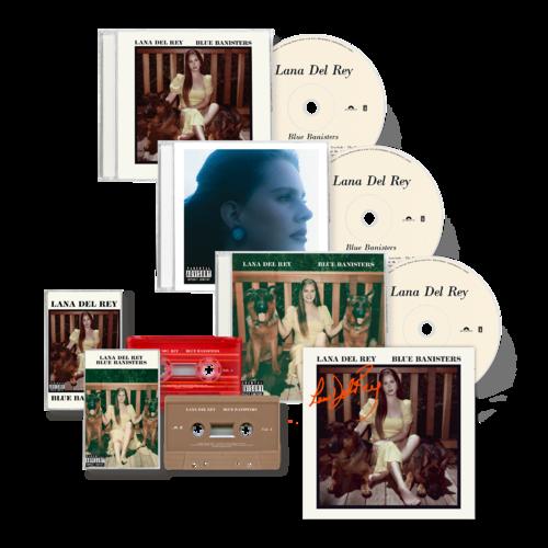 Lana Del Rey: BLUE BANISTERS CD + CASSETTE BUNDLE (SIGNED)