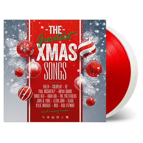 Various Artists: Great Xmas Songs: Limited Edition White & Red Vinyl