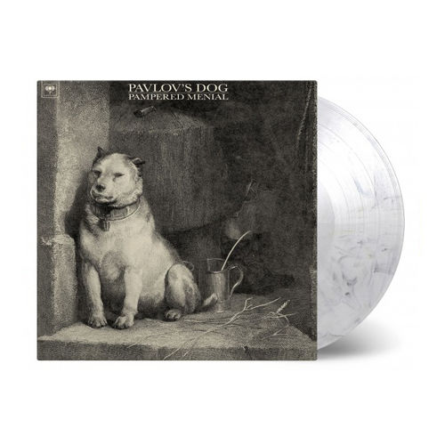 Pavlov's Dog: Pampered Menial: Limited Edition Transparent & Black Marbled Vinyl
